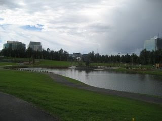 Cuddy Park in Midtown Anchorage