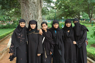 Muslim School Girls in India