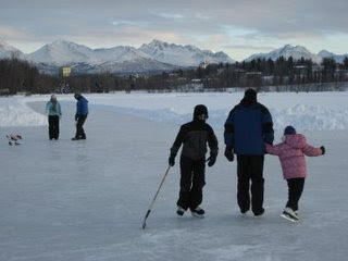 Winter Activities for Families in Anchorage Alaska