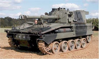 British Vicker Abbott Self-Propelled Howitzer from Tanks-to-go