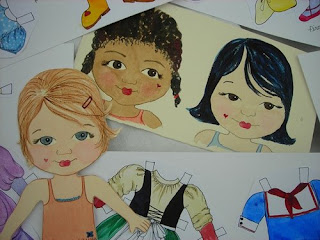 Paper Me Dolls from Anklebiters