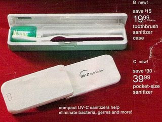 Toothbrush Sanitizer