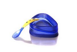 Baby Dipper Spoon and Bowl Set