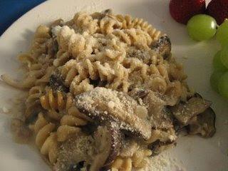 Wild Mushroom Pasta Bake