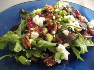 Fresh Goat Cheese Mixed Salad