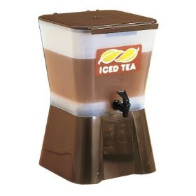Iced Tea and Lemonade Dispenser