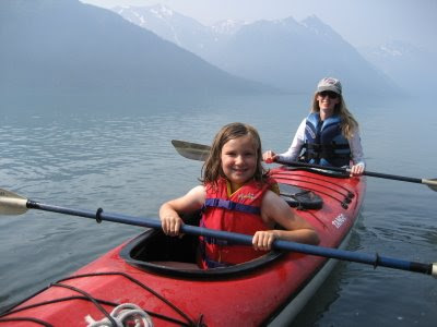 Kayaking on the Kenai Peninsula in Alaska