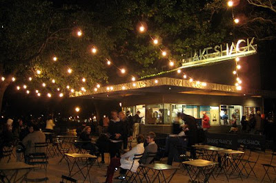 shake shack in new york city, madison square park