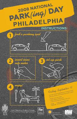 PARK(ing) Day Philadelphia
