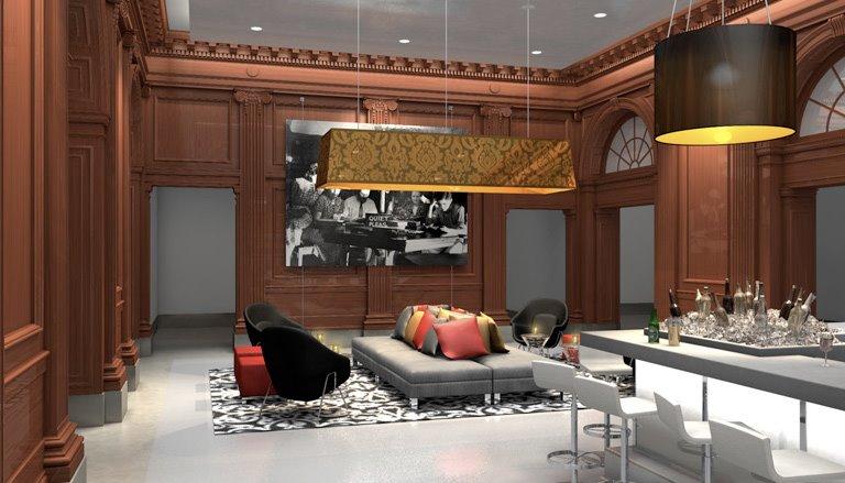 Le Méridien Philadelphia Bar and lounge