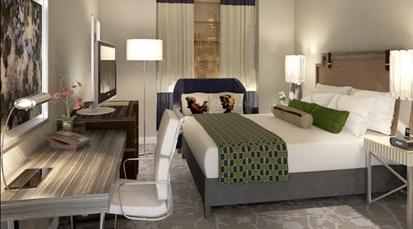 a room at the hotel palomar philadelphia