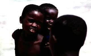 Niños en Gorée