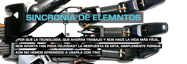 Sincronía de  Elementos