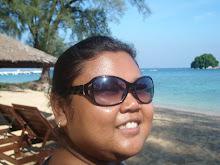 Me, beach, island & sea