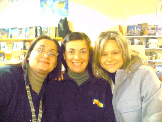 Patù, Angela e Genesia - Bookcafè girls