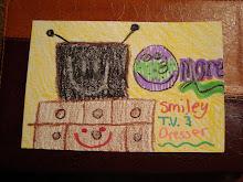 T.V. and Dresser Smiley