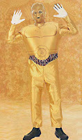 C3PO Star Wars Costume