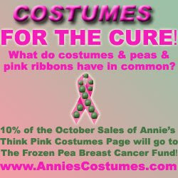 Think Pink Costumes for Breast Cancer Awareness Month