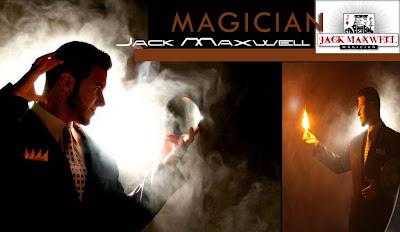 Magician Jack Maxwell