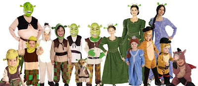 Shrek Movie Costumes for Halloween