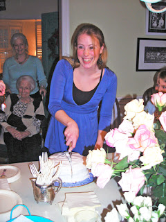 There are 4 generations in this photo. See me and my Mom in the background, and granddaughter Emma on the right?