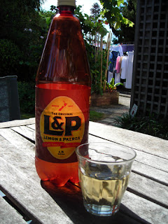 A refreshing glass of L&P