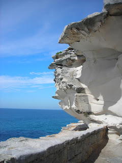 breathtaking rock formations, Bondi Beach