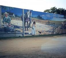 Mural in Miller County