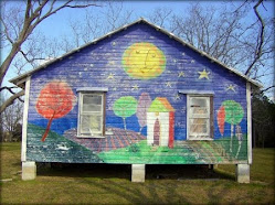 House Mural in Broxton, Ga
