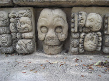 Carvings in Copan