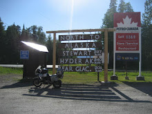 Entrance to the Cassiar Highway