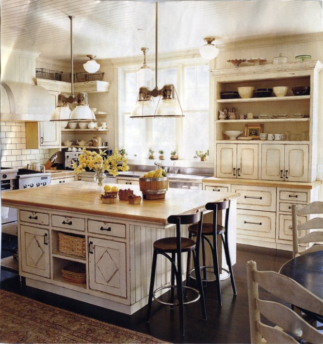 The skirted roundtable saturday short our dream kitchens for Dream kitchens