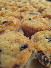 baby lemon blueberry muffins
