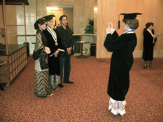 LSPR Graduation Day 2006, Ritz-Carlton Hotel, Jakarta