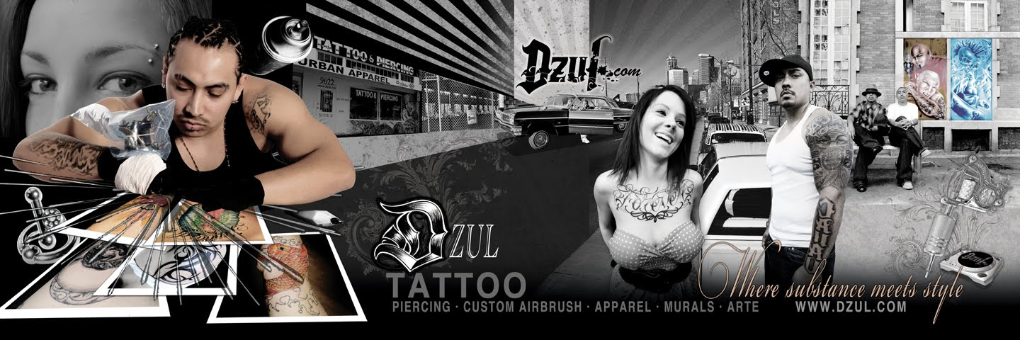 tattoo banner. gets her tattoo from DZUL!