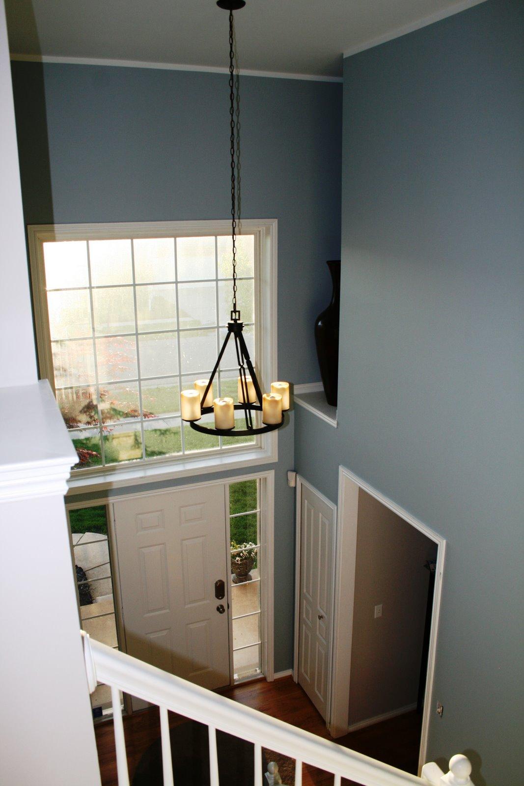 Blue Foyer Paint : Blues purples the paint bio