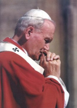 Holy Father Pope John Paul II the Great