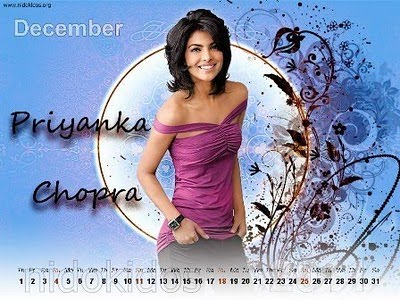 Desktop Calendar Wallpaper on New Year Priyanka Chopra Photo Desktop Calendar Wallpaper Hot Images