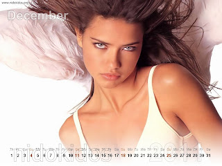Adriana Lima Hot Photoshoot For 2011 Calender