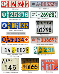 License Plates of Ethiopia