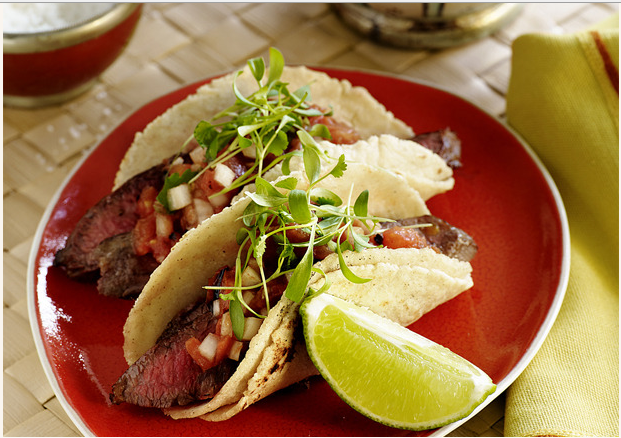 Wei wei 39 s recipes collection carne asada tacos recipe Food network recipes