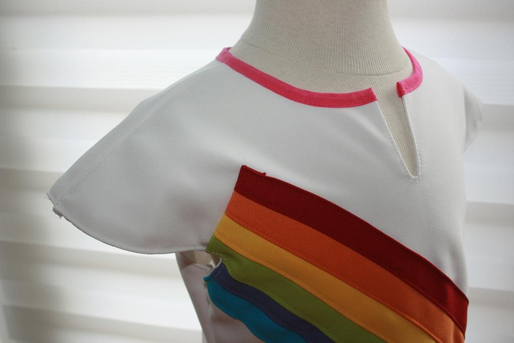 K3 jurk regenboog zelf maken