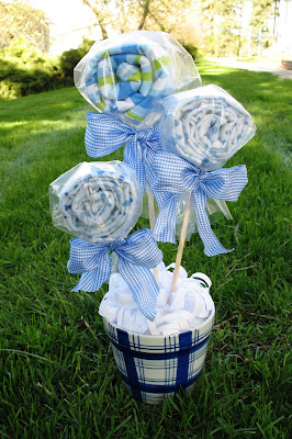 baby shower bouquet