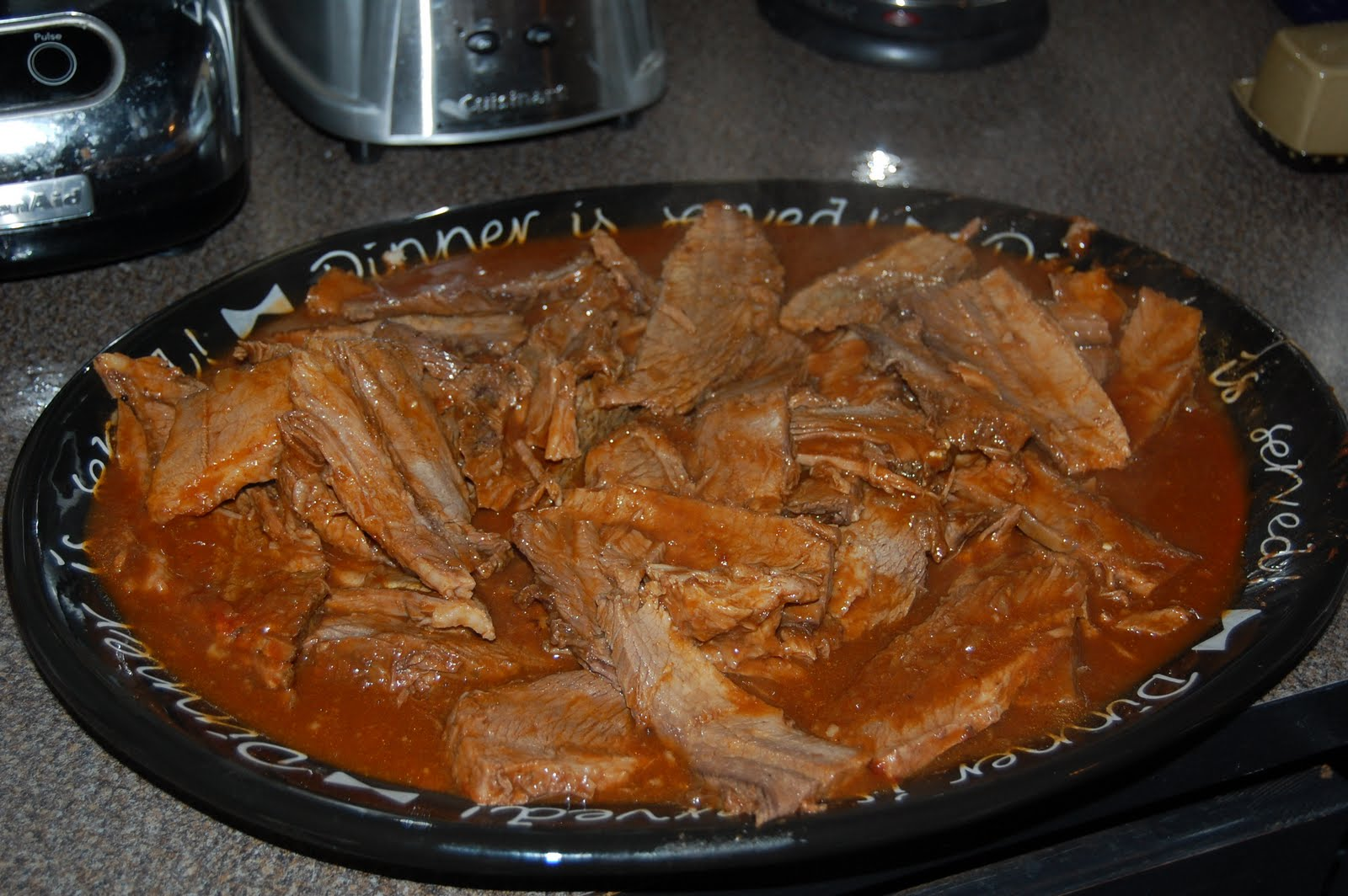 Kitchen Curiosities and more...: Grandma Marian's Brisket