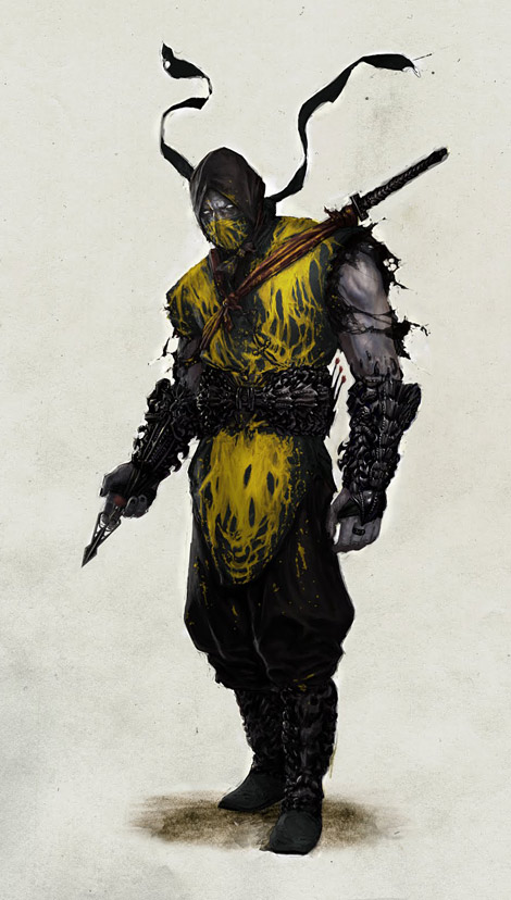Some Cool Mortal Kombat Concept Art