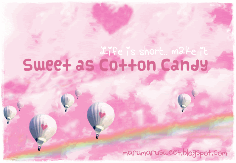 ♥ Sweet as Cotton Candy ♥