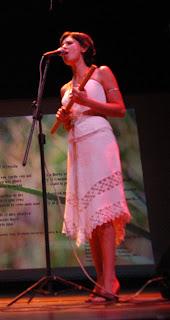 Nerina Bader, joven cantante misionera