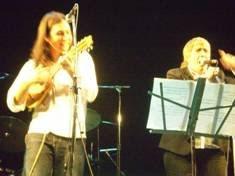 Bruno Arias con Teresa Parodi
