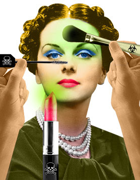 Toxic Components in Conventional Cosmetics | Alarming Data
