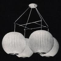 Lámparas Burbuja George Nelson